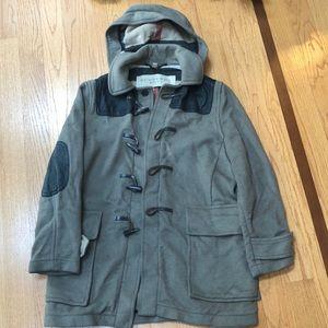 Men's Burberry toggle coat